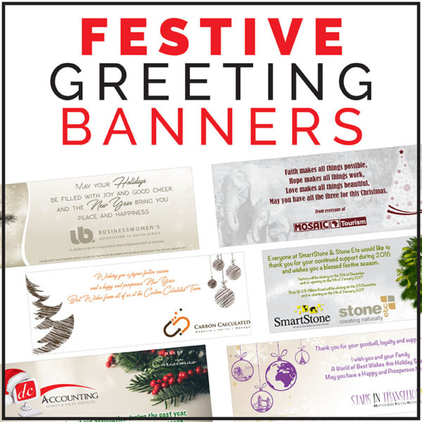 The Graphic Vine - Festive Greeting Banner