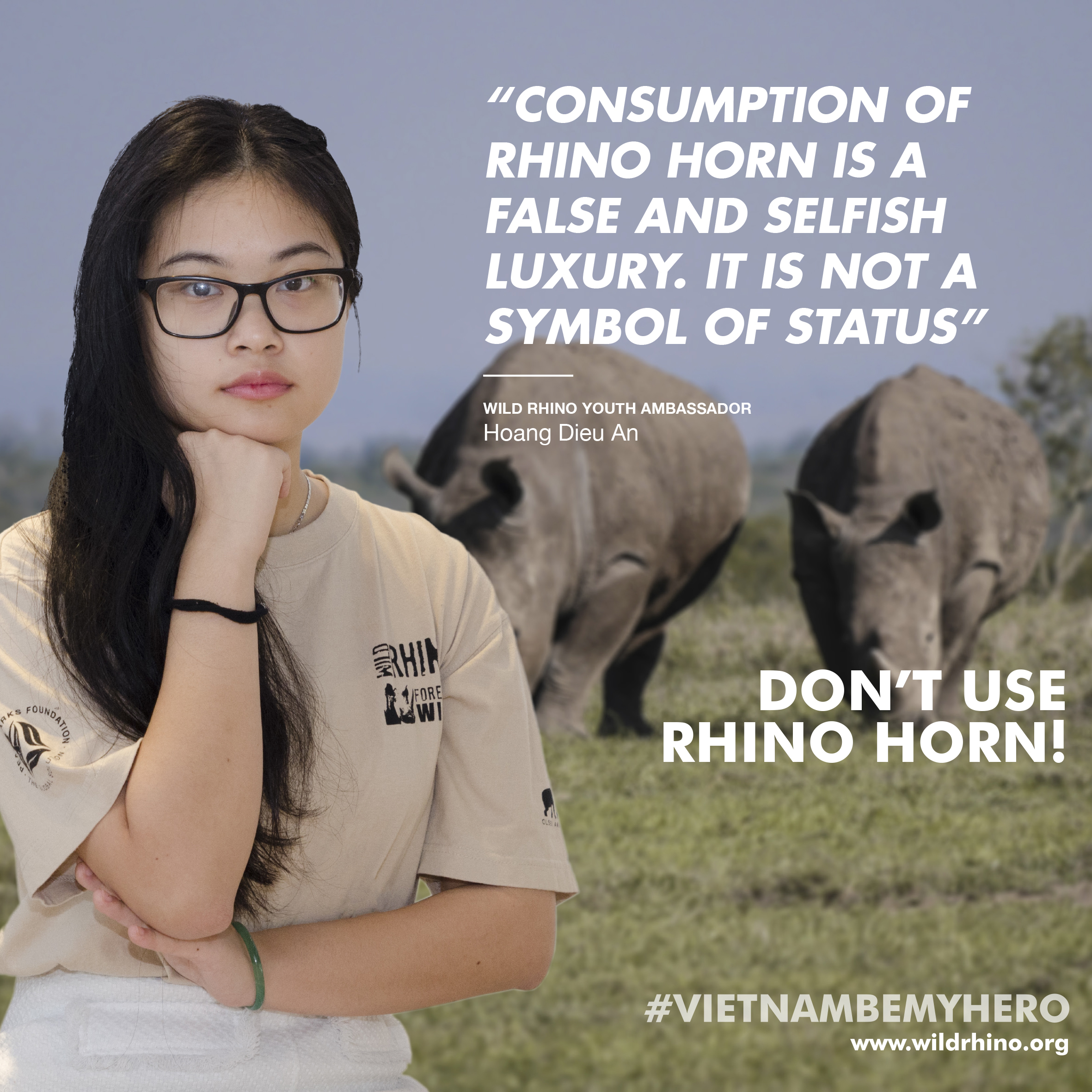 Wild Rhino 2018 Ambassador Campaign